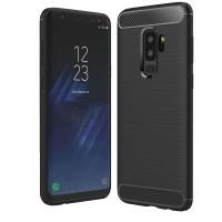 Husa de protectie Carbon Samsung Galaxy S9, Negru