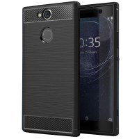 Husa Carbon Sony XA2, Negru