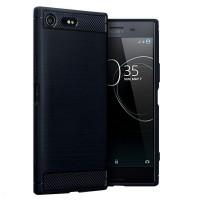 Husa Carbon Sony Xperia XZ Premium, Negru