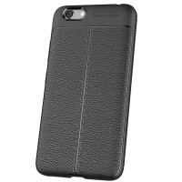 Husa de protectie Leather Vivo Y66, Black