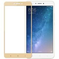 Folie sticla Xiaomi Mi Max 2, Skin Gold