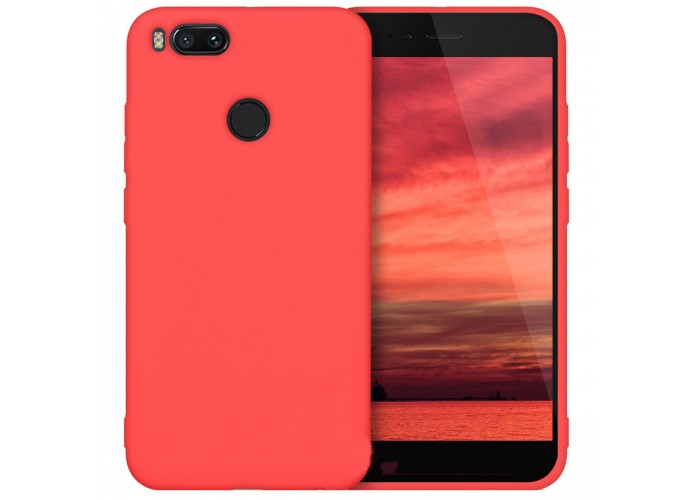 Husa silicon slim Xiaomi Mi A1 / 5X ,Red