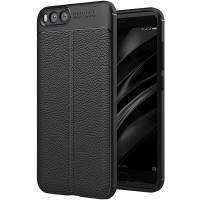 Husa de protectie Leather Xiaomi Mi Note 3, Negru