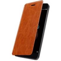 Husa de protectie flip Xiaomi Redmi 5A, Brown