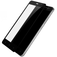Folie protectie sticla pentru Xiaomi Redmi Note 3/Note 3 Pro, Black