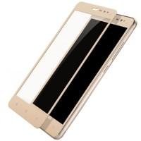 Folie protectie sticla pentru Xiaomi Redmi Note 3/Note 3 Pro, Gold