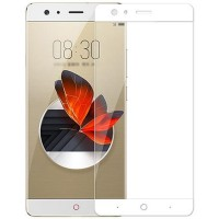 Folie sticla ZTE Nubia Z17 Mini, Skin White