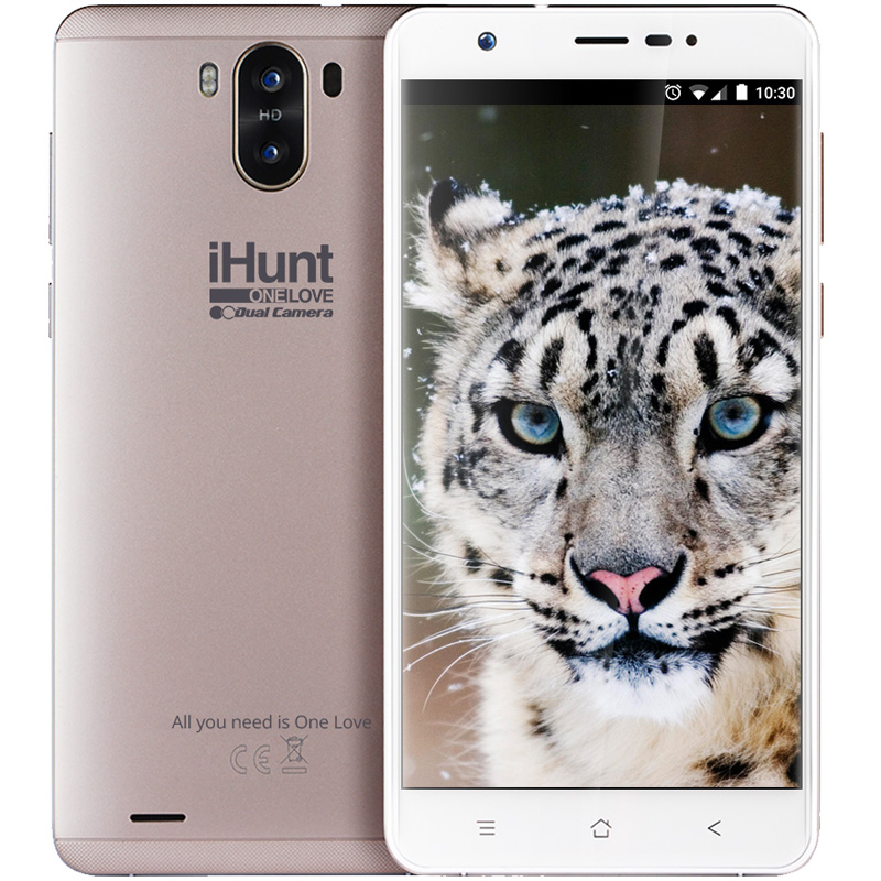 Ihunt One Love Dual Camera Gold