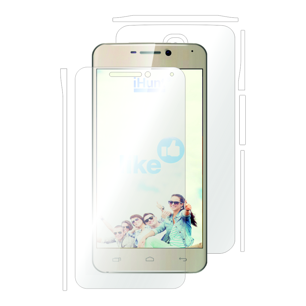 Folie protectie Smart Protection iHunt Like fullbody(fata,spate si laterale)