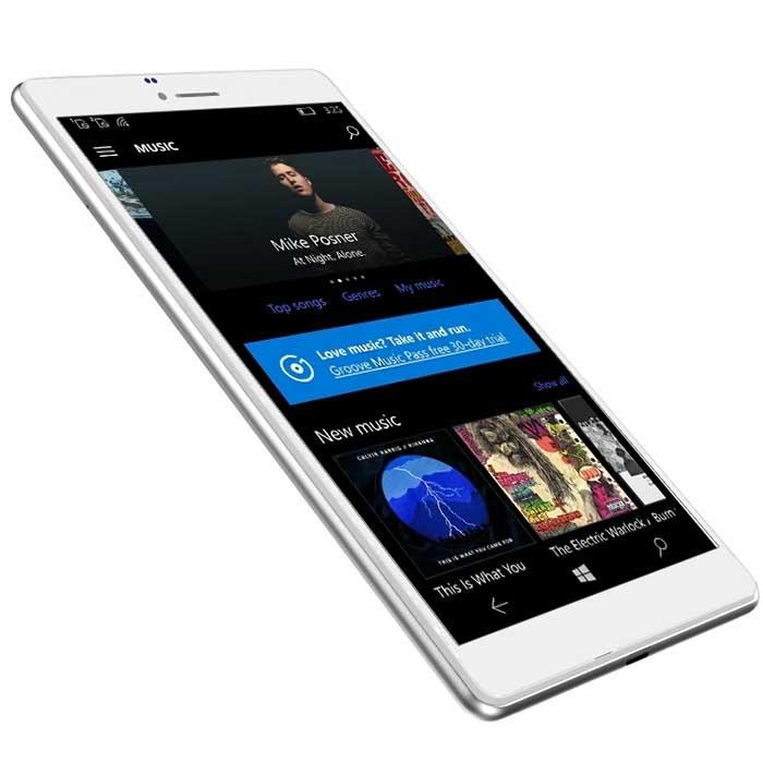 Tableta Cube WP10 4G Phablet, Silver White, 6.98 inch, 2GB RAM, 16GB, Camera 5.0MP, Windows 10 Mobile