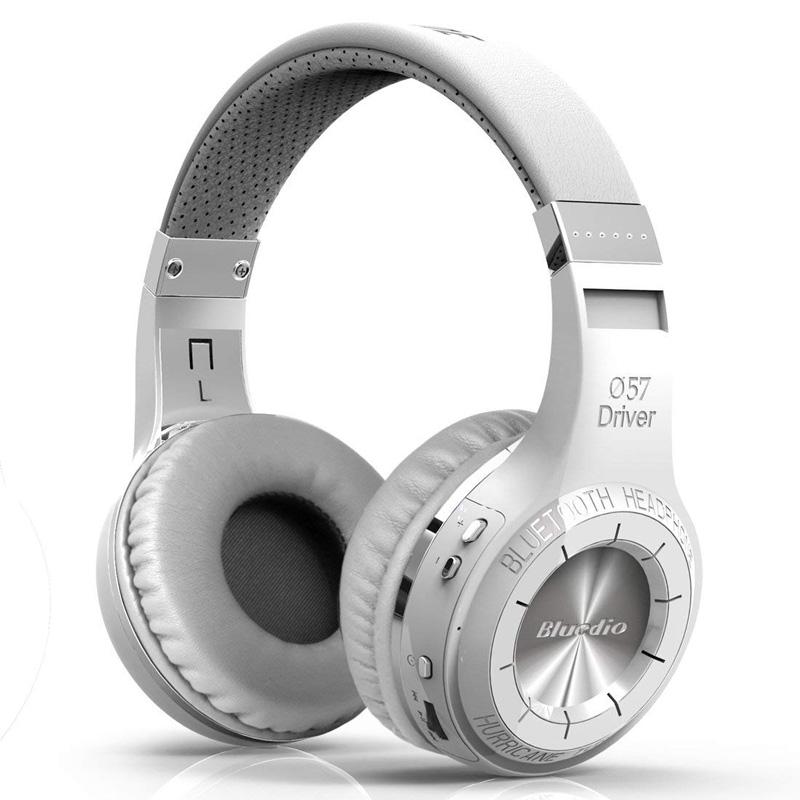 Casti Bluetooth Bluedio Ht White