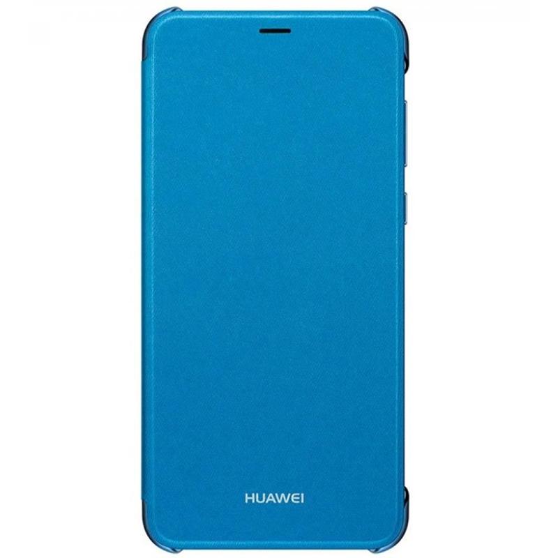 Husa De Protectie Flip Huawei P Smart, Blue