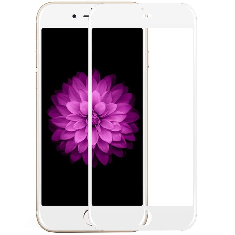 Folie protectie pentru iPhone 7 Plus / iPhone 8 Plus, Skin Alb
