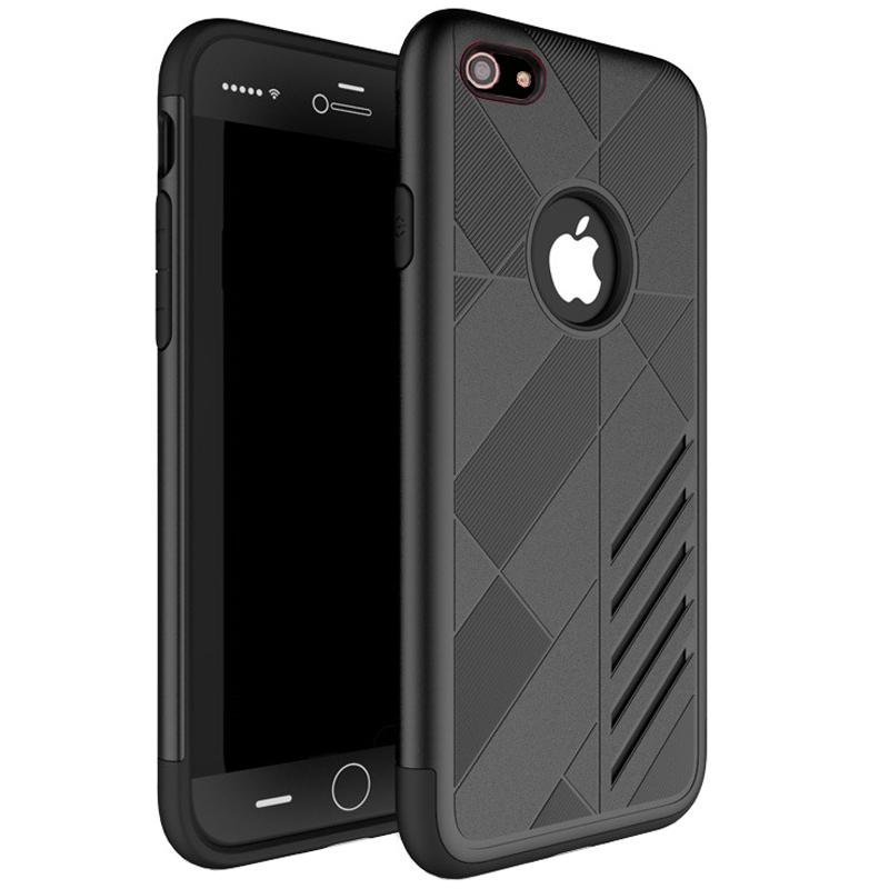 Husa CASEOLOGY iPhone 7 / iPhone 8, Negru