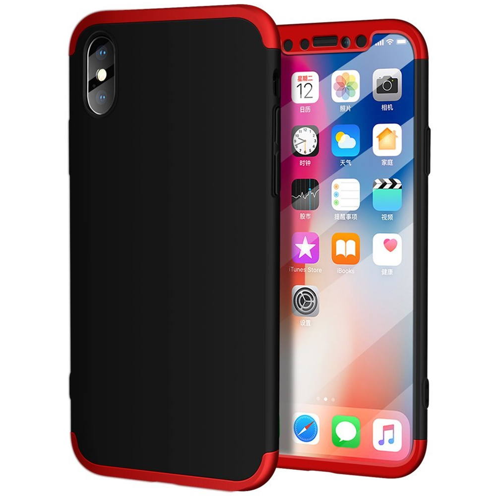 Husa 360 4st Iphone 8, Red