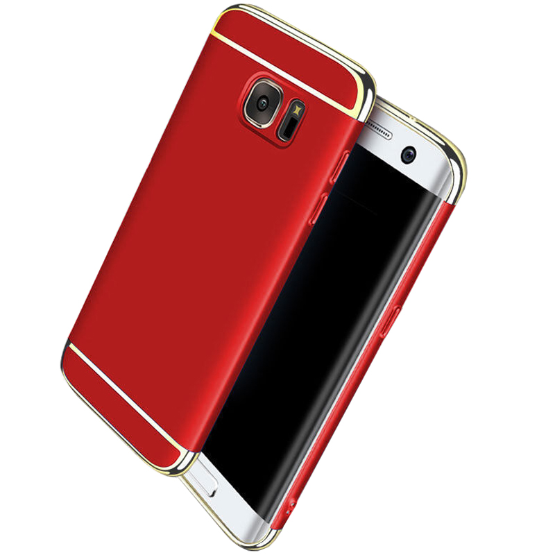 Husa Plastic Luxury Samsung Galaxy S7 Edge, Red